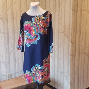 Lilly Pulitzer Mod Print Dress size 6